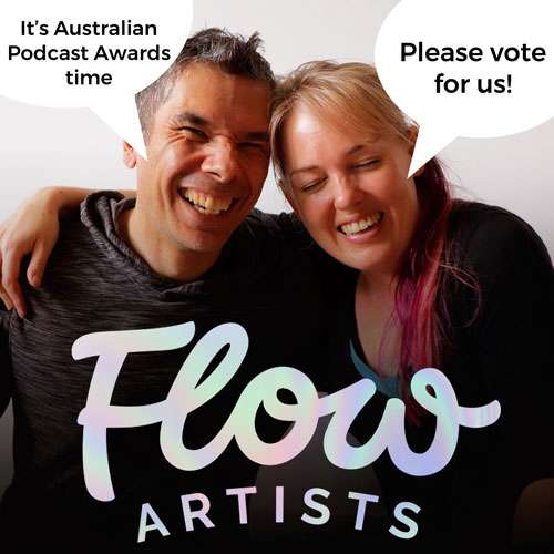 Flow Artists Podcast Awards Image